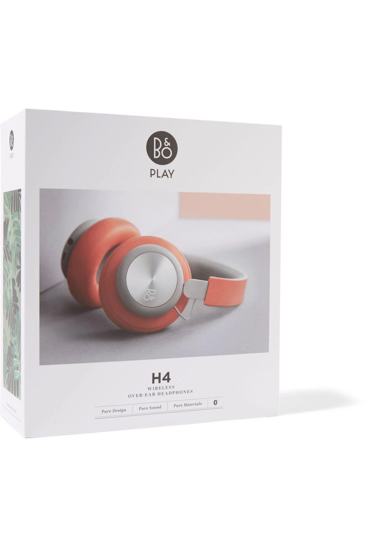 B&O Play H4 wireless leather and aluminium headphones