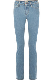Holt high-rise slim-leg jeans
