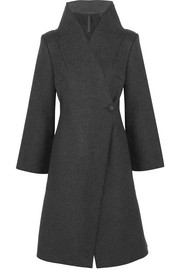 Double-faced felt coat