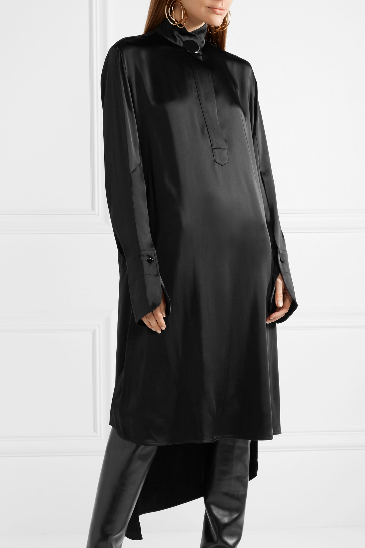 Petar Petrov Darleen asymmetric satin dress