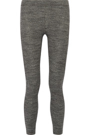 James Perse Stretch-cotton jersey leggings