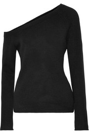 James Perse Off-the-shoulder cashmere sweater