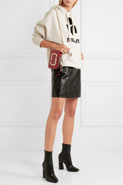 Marc Jacobs Hotshot two-tone textured-leather shoulder bag