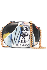 Moschino Printed PVC shoulder bag