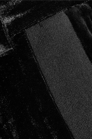 3.1 Phillip Lim Jogginghose aus Samt mit Jersey-Besatz Professionel Sneakernews Online Verkauf Beste Geschäft Zu Erhalten Günstig Kaufen Preise cZbVSiC