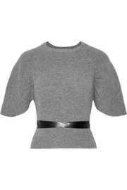 REDValentino Belted wool sweater