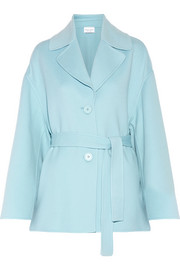 Mansur Gavriel Oversized belted wool and cashmere-blend coat