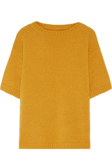 Mansur Gavriel - Mohair-blend Sweater - Mustard