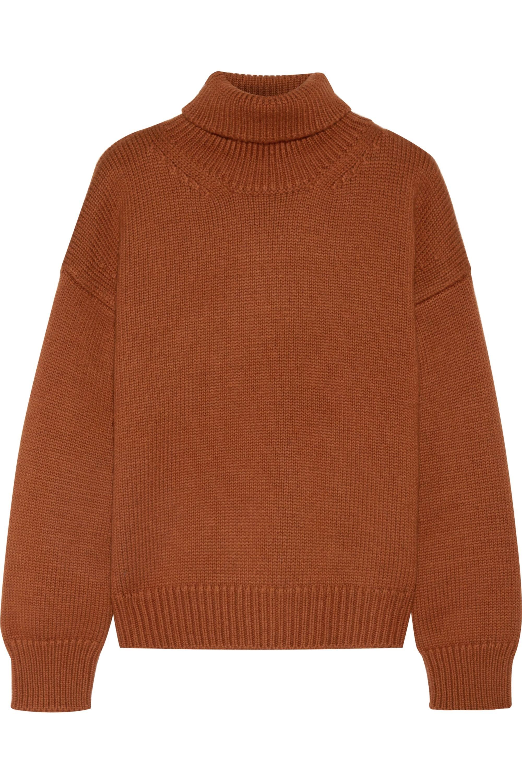 Mansur Gavriel Oversized merino wool turtleneck sweater