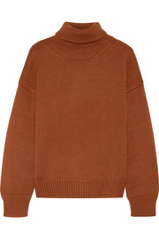 Mansur Gavriel Oversized merino wool turtleneck sweater