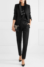 Saint Laurent Wool-gabardine pants