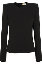 Saint Laurent Crepe top