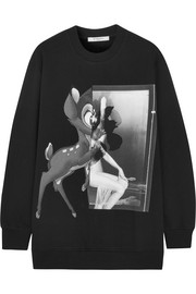 Givenchy Printed cotton-jersey sweatshirt