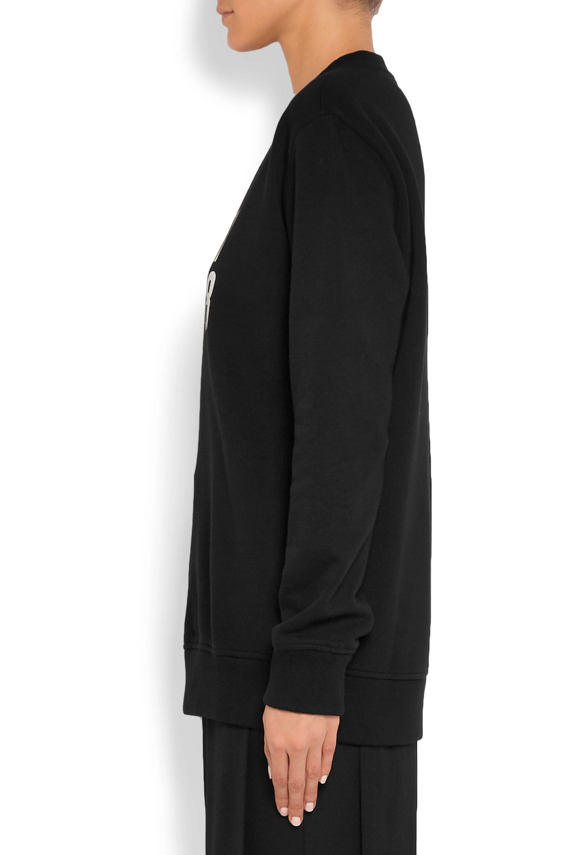 Givenchy Oversized printed cotton-jersey sweatshirt