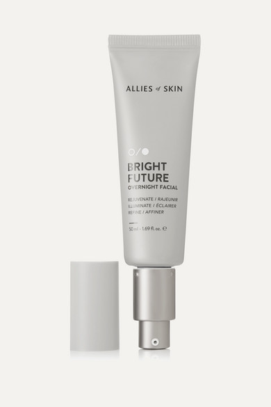 Allies of Skin - Bright Future Overnight Facial, 50ml - one size