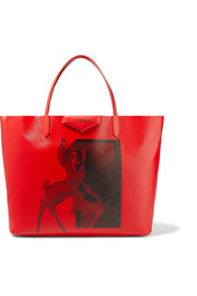 Antigona large printed coated-canvas tote