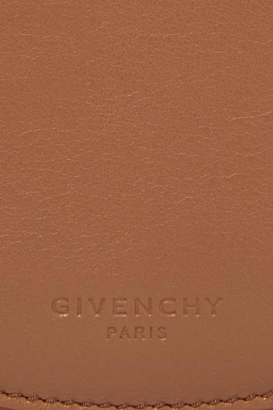 Givenchy Infinity mini Schultertasche aus Leder mit Kettenbesatz