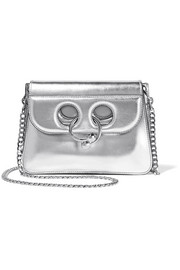 JW Anderson Pierce mini metallic leather shoulder bag