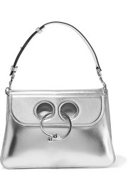 JW Anderson Pierce medium metallic leather shoulder bag