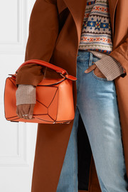 Loewe Puzzle medium textured-leather shoulder bag