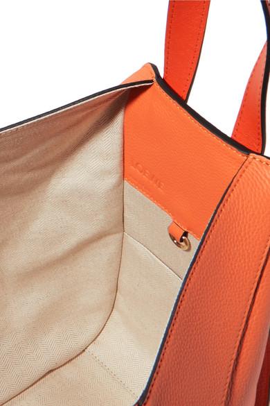 Loewe Hammock kleine Schultertasche aus strukturiertem Leder