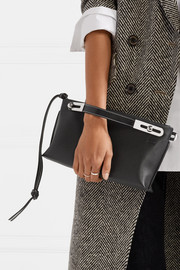 Loewe Missy small textured-leather clutch