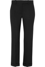 Haider Ackermann Embroidered wool straight-leg pants