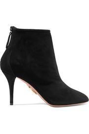 Aquazzura Bottines en daim Brook