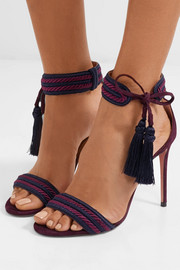 Shanty tasseled suede sandals