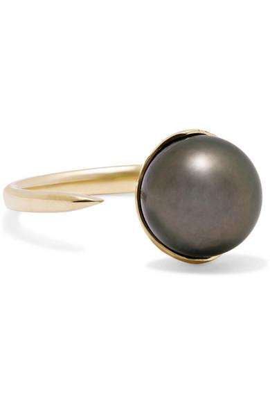 Mizuki - 14-karat Gold Pearl Ring