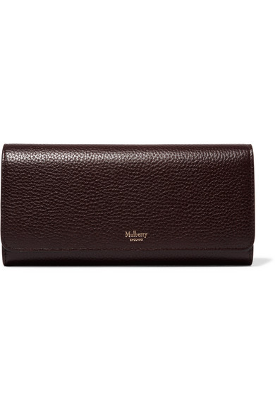 Mulberry Wallet In The European Style Of Patterned Leather