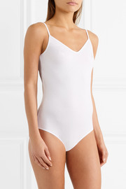 Linnea stretch-cotton jersey bodysuit