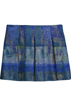Proenza Schouler | Cotton-blend tweed pleated skirt | NET-A-PORTER.COM