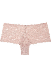 Hanro Moments Maxi stretch-lace briefs