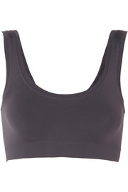 Touch Feeling stretch-jersey soft-cup bra