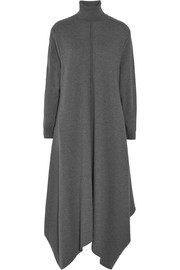 Stella McCartney Oversized wool turtleneck maxi dress