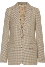 Stella McCartney Checked wool blazer