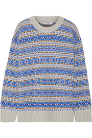 Stella McCartney Fair Isle wool sweater