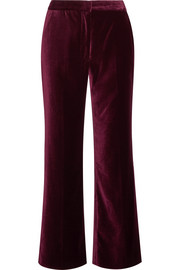 Stella McCartney Velvet flared pants