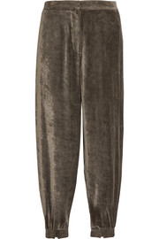 Stella McCartney Velvet track pants