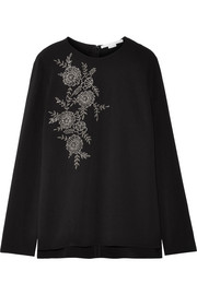 Stella McCartney Embellished cady top