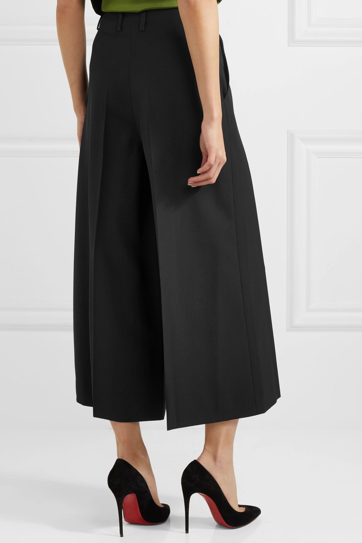 Lanvin Wool-crepe culottes