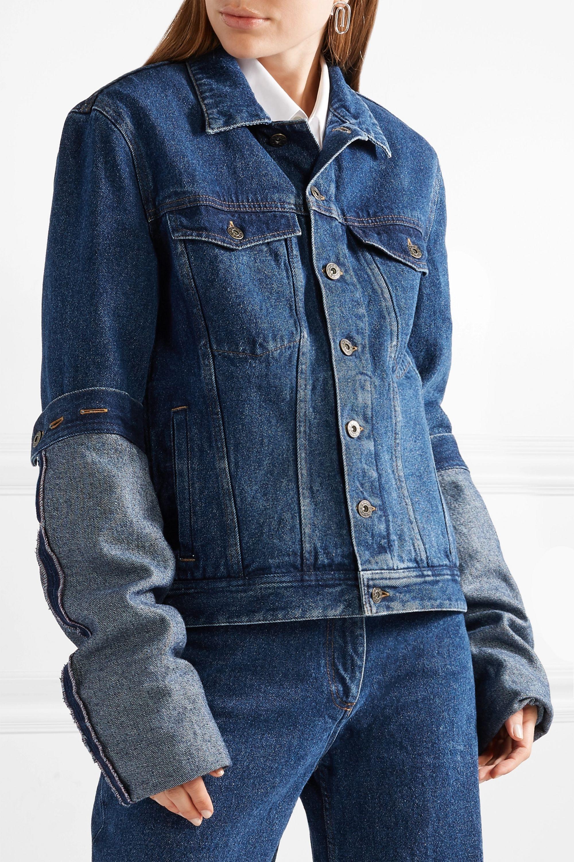 Y/PROJECT Oversized denim jacket