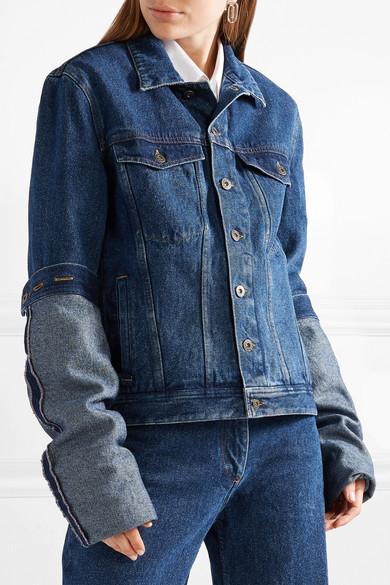 Y Project Oversized Denim Jacket Net A Porter Com