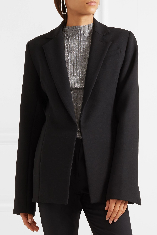 Georgia Alice Paneled crepe blazer