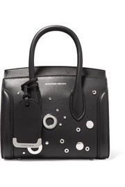 Alexander McQueen Heroine small embellished leather tote