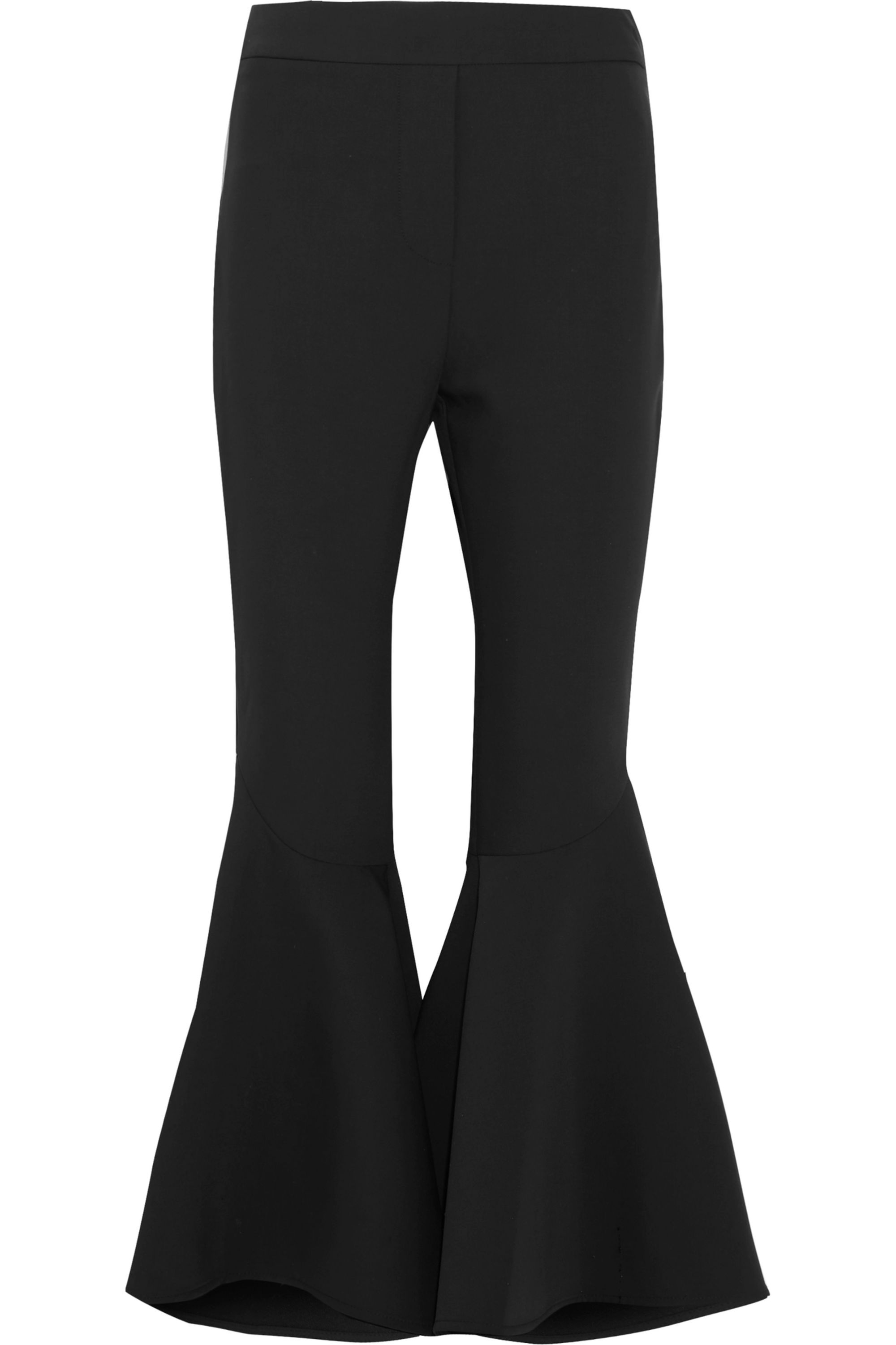 Ellery Sinuous crepe flared pants