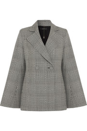 Boycott Prince of Wales checked wool blazer