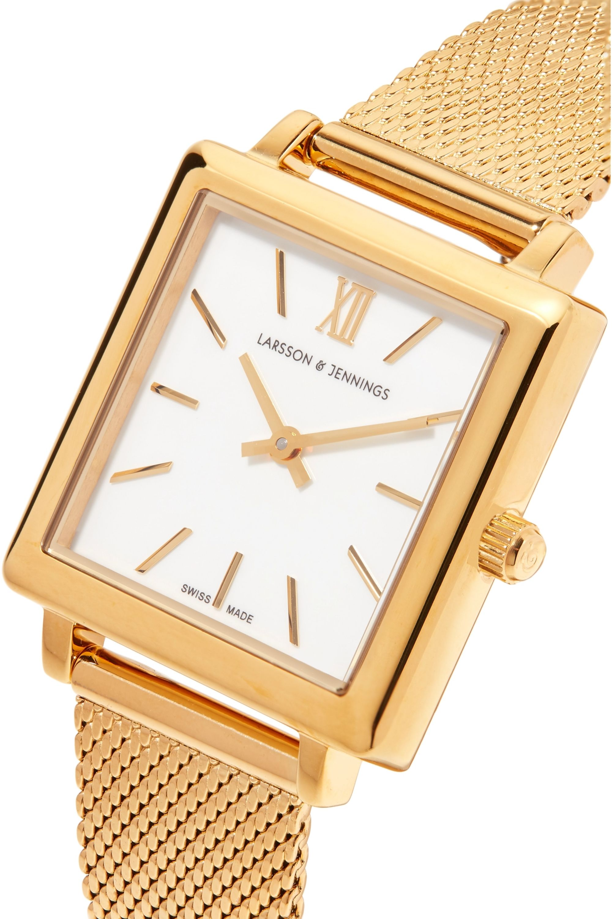 Larsson & Jennings Norse gold-plated watch
