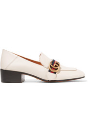 Gucci Collapsible-heel leather pumps